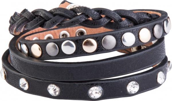 Goldline - COMBINATION 4 YOU JEWELRY® - Crystal Line Armband Wickelarmband 82
