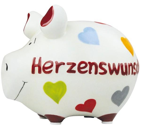 Lustiges Sparschwein- Herzenswunsch - von KCG
