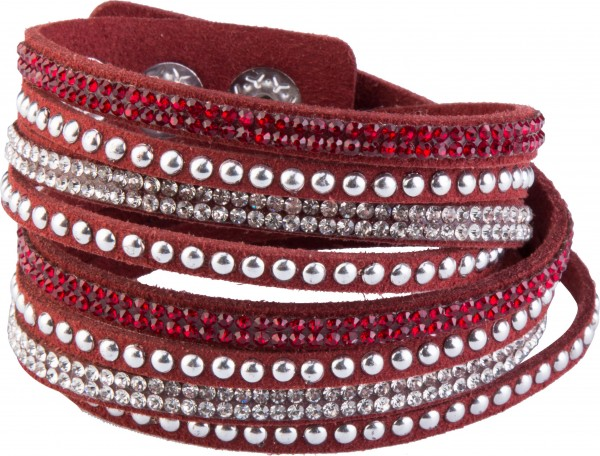 Goldline - COMBINATION 4 YOU JEWELRY® - Crystal Line Armband Wickelarmband 22