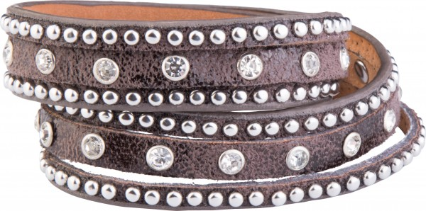 Goldline - COMBINATION 4 YOU JEWELRY® - Crystal Line Armband Wickelarmband 68