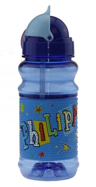 John Hinde Trinkflasche mit Namen Philipp