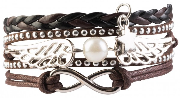 Goldline - COMBINATION 4 YOU JEWELRY® - Infinity Line Armband Nr.12