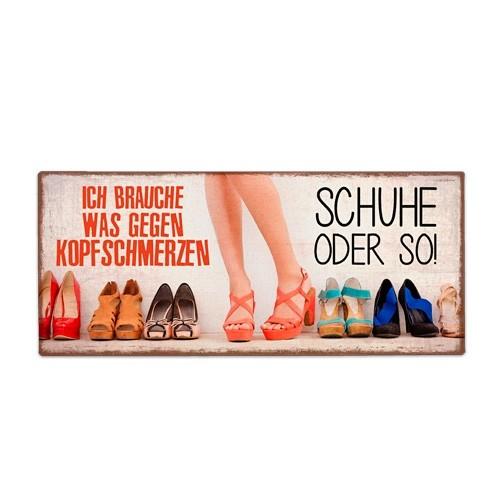 La Vida - Schild für dich - Schuhe