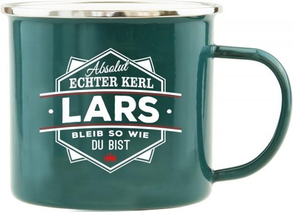 History & Heraldry Echte Kerle Becher Lars Emaille Becher Kaffeebecher Kaffeepott