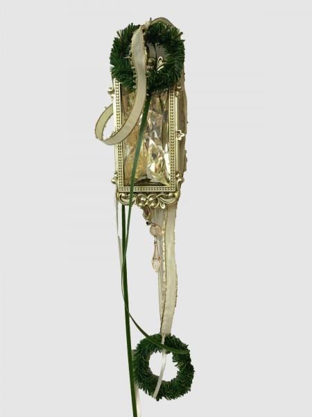 Fensterdeko Weihnachten Nr.1 Ornament 24 cm gold Fensterhänger Winter