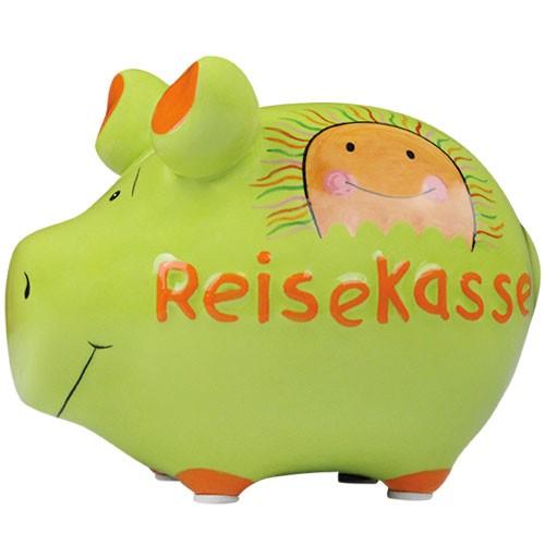 Lustiges Sparschwein - Reisekasse - Sparbüchse von Kawlath's Coole Geschenke