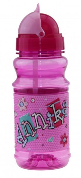 Trinkflasche mit Namen für Kinder Annika