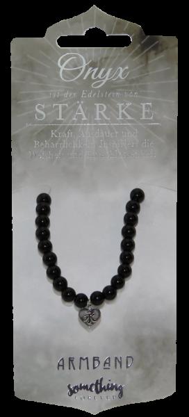 Edelstein - Geschenke Halskette Onyx