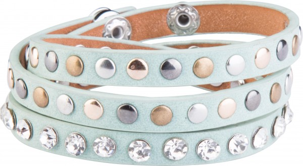 Goldline - COMBINATION 4 YOU JEWELRY® - Crystal Line Armband Wickelarmband 65