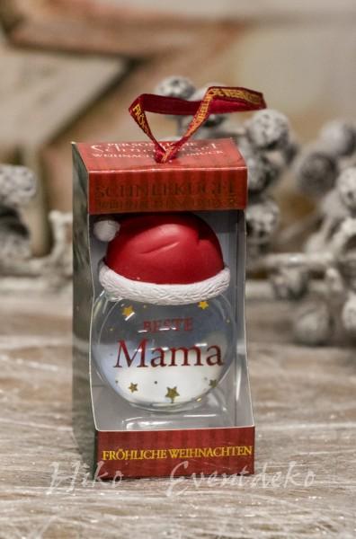 H&H History Heraldry Schneekugel, personalisiert, für die Weihnachtszeit ein schönes Geschenk,Beste Mama