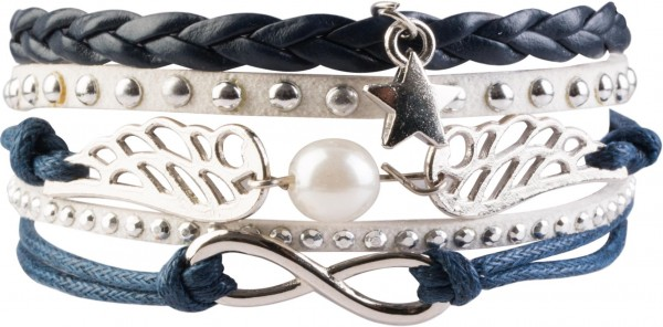 Goldline - COMBINATION 4 YOU JEWELRY® - Infinity Line Armband Nr.43