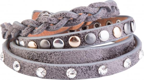 Goldline - COMBINATION 4 YOU JEWELRY® - Crystal Line Armband Wickelarmband 83