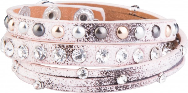 Goldline - COMBINATION 4 YOU JEWELRY® - Crystal Line Armband Wickelarmband 46