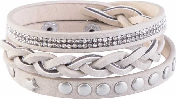 Goldline - COMBINATION 4 YOU JEWELRY® - Crystal Line Armband Wickelarmband 42