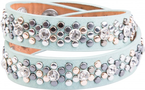 Goldline - COMBINATION 4 YOU JEWELRY® - Crystal Line Armband Wickelarmband 54