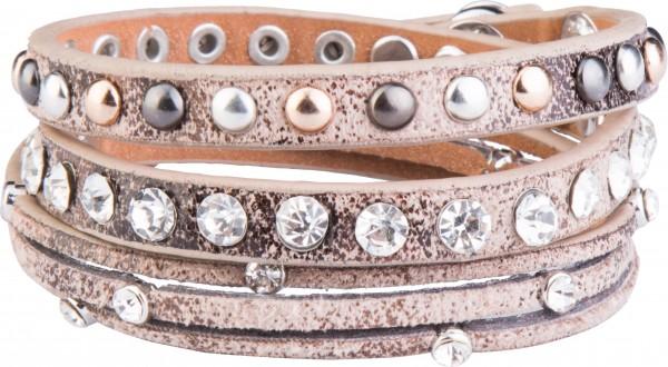 Goldline - COMBINATION 4 YOU JEWELRY® - Crystal Line Armband Wickelarmband 43