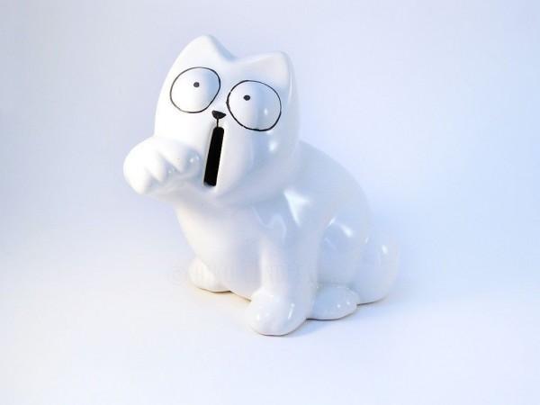 Simon´s Cat Sparkatze sitzend ( B-Ware)