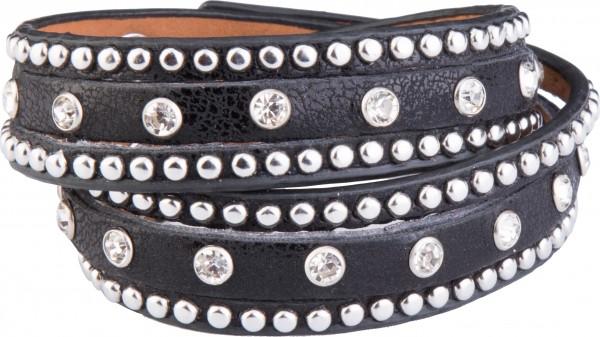 Goldline - COMBINATION 4 YOU JEWELRY® - Crystal Line Armband Wickelarmband 70
