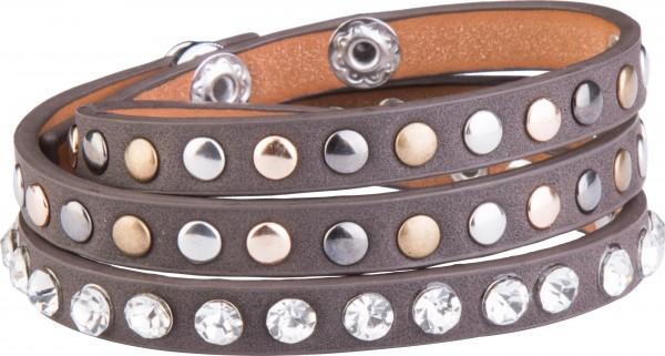 Goldline - COMBINATION 4 YOU JEWELRY® - Crystal Line Armband Wickelarmband 62