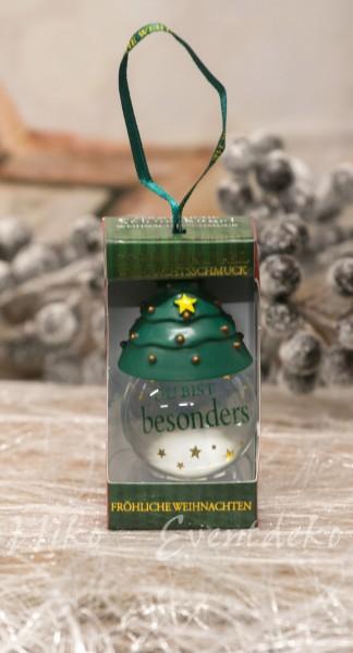 H&H History Heraldry Schneekugel, personalisiert, schöne Geschenkidee Du bist besonders