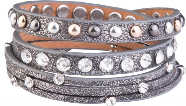 Goldline - COMBINATION 4 YOU JEWELRY® - Crystal Line Armband Wickelarmband 48