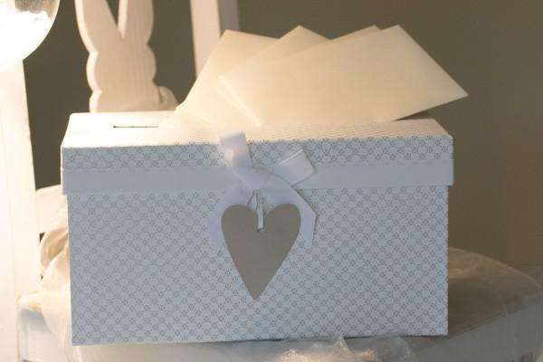 Weddingbox, Hochzeitsbox, Hochzeitskiste klein 30x17