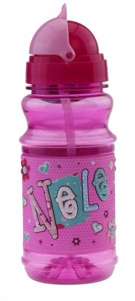 John Hinde Trinkflasche mit Namen Nele