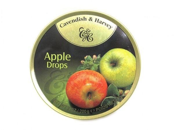 Cavendish & Harvey - Apple - Apfel - Drops - Bonbons - 200g in Metalldose