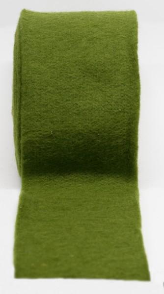 Filz, Filzband, Topfband, 100% Wolle, Tischdeko, grün