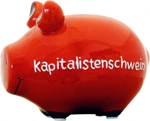 Spardose - Kapitalistenschwein - lustiges Sparschwein von KCG