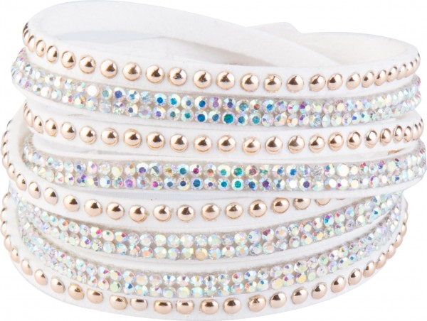 Goldline - COMBINATION 4 YOU JEWELRY® - Crystal Line Armband Wickelarmband 23