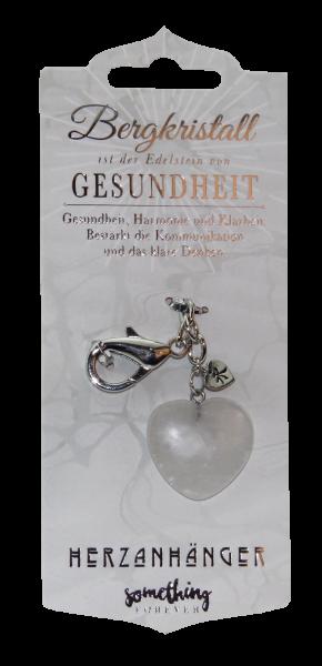 History & Heraldry Schlüsselanhänger, Edelstein-Geschenke Bergkristall