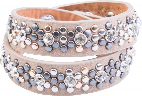 Goldline - COMBINATION 4 YOU JEWELRY® - Crystal Line Armband Wickelarmband 51