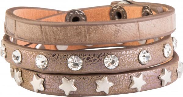 Goldline - COMBINATION 4 YOU JEWELRY® - Crystal Line Armband Wickelarmband 30