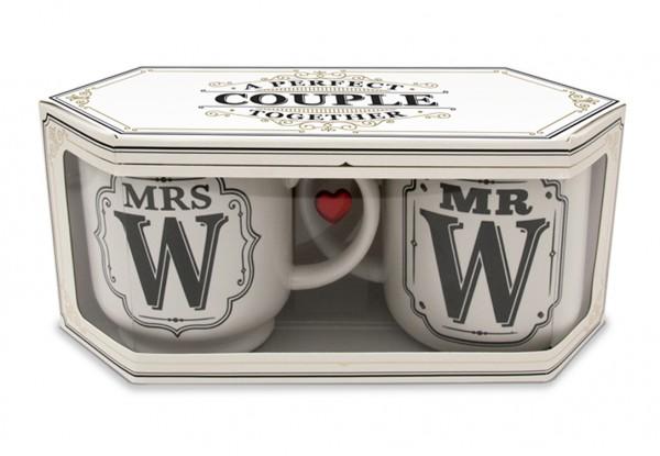 Doppelbox - H&H Mr. & Mrs. Becher bei Hiko-Dekoshop