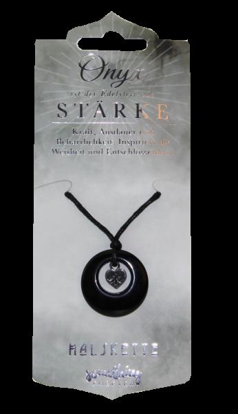 Edelstein-Geschenke, Halskette, Onyx