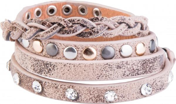 Goldline - COMBINATION 4 YOU JEWELRY® - Crystal Line Armband Wickelarmband 80