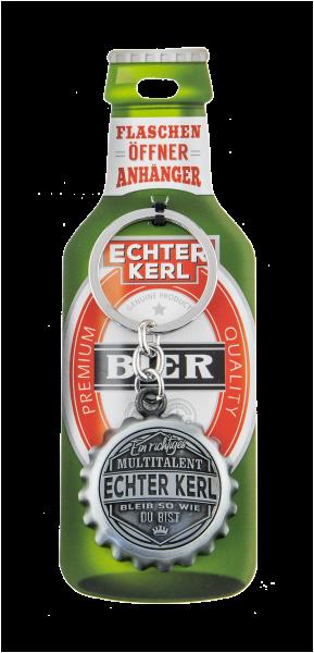 Echter Kerl - Flaschenöffner - H&H - Schlüsselanhänger