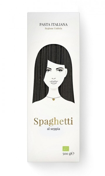 Good Hair Day Pasta 500g BIO Spaghetti al seppia