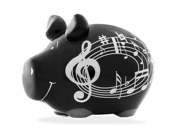 Lustiges Sparschwein- Musikschwein - von KCG
