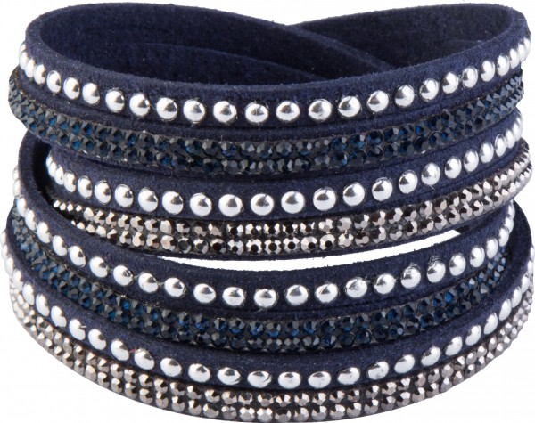Goldline - COMBINATION 4 YOU JEWELRY® - Crystal Line Armband Wickelarmband 21