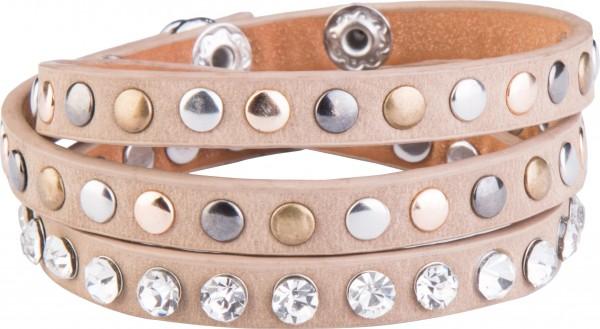 Goldline - COMBINATION 4 YOU JEWELRY® - Crystal Line Armband Wickelarmband 63