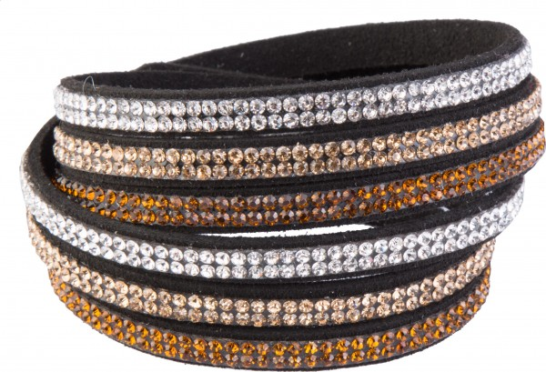 Goldline - COMBINATION 4 YOU JEWELRY® - Crystal Line Armband Wickelarmband 12