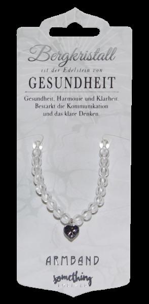 Edelstein - Geschenke Halskette Bergkristall