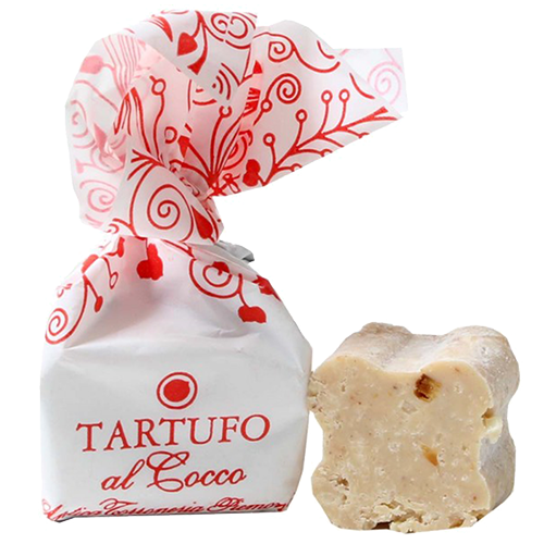 Tartufo al cocco Pralinen Trüffel italienische Trüffelpraline