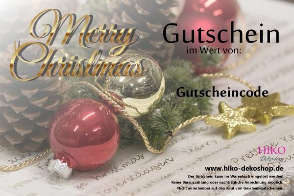 Geschenkgutschein, Gutschein, für jeden Anlass Xmas