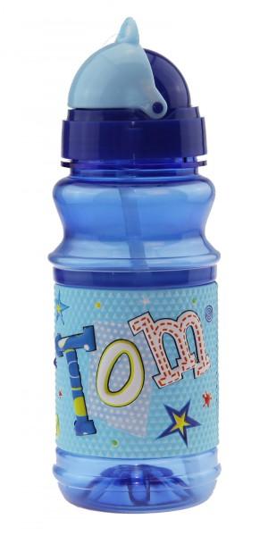 John Hinde Trinkflasche mit Namen Tom