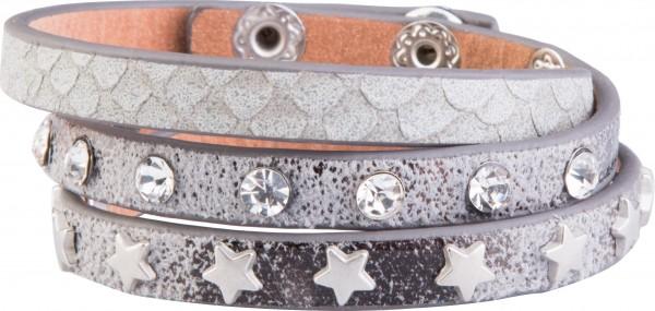 Goldline - COMBINATION 4 YOU JEWELRY® - Crystal Line Armband Wickelarmband 29