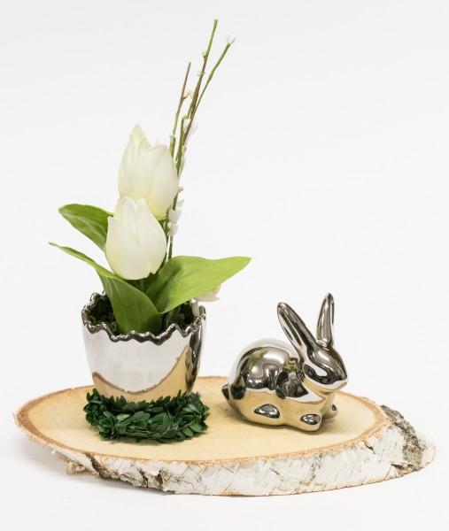 Tischdekoration edel und rustikal - ein tolles Geschenk für Geburtsag oder Jubiläum - Frühling - Ostern