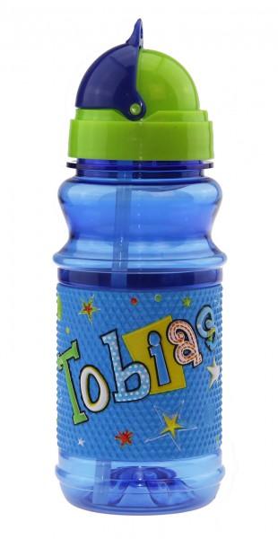 John Hinde Trinkflasche mit Namen Tobias